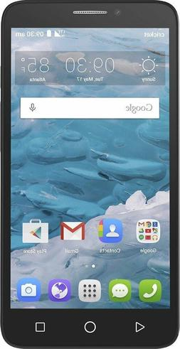 Alcatel OneTouch Flint - 16GB - Black  Smartphone
