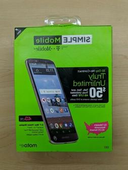 simple mobile moto e5 prepaid android 4g