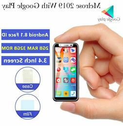 Smallest 4G LTE Smartphone Melrose 2019 Android 8.1 Google P