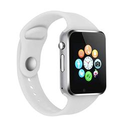 Smart Watch Phone Camera, IOQSOF Touch Screen Smart Wristwat
