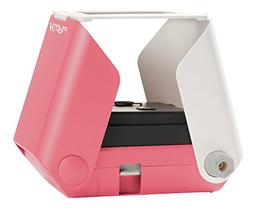 KiiPix Smartphone Picture Printer, Pink | Instantly Print Fu
