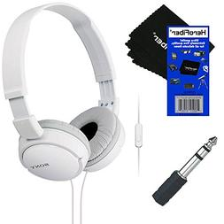 Sony MDRZX110AP ZX Series Extra Bass Smartphone Headset with