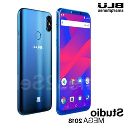 "Blu Studio Mega 2018 6.0"" HD Unlocked Phone Android Oreo  Bl"