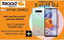 LG Stylo 6 boost mobile 64GB Smartphone Boost Mobile Free 1