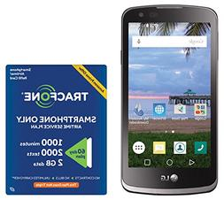 TracFone LG Rebel 4G LTE Prepaid Smartphone with Amazon Excl