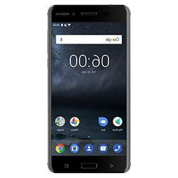 "Nokia 6  - 32 GB - Unlocked Smartphone  - 5.5"" Screen - Blac"