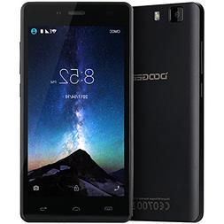 Unlocked Cell Phones, DOOGEE X5 Dual Sim Smartphones - 5.0""