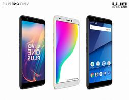 """BLU  Vivo One Plus with 16GB Memory Cell Phone 6"""" Display An"""