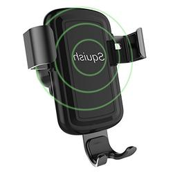 Squish Wireless Charger Car Mount Adjustable Gravity Air Ven