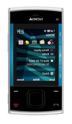 Nokia X3 Slider GSM Quad-Band Unlocked Cell Phone with 3.5 M